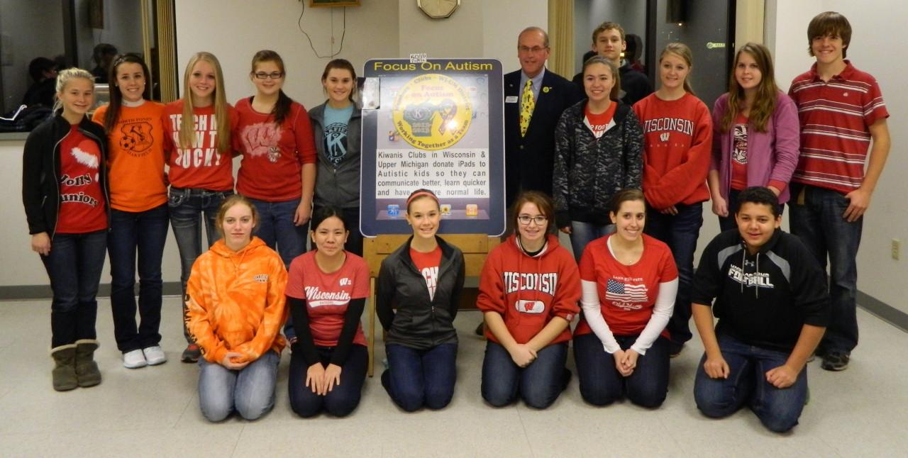 Oakfield High School Key Club(Kiwanis Club of Fond du Lac-Lakeside)